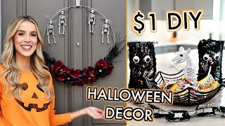 DOLLAR STORE DIY HALLOWEEN DECOR | leighannsays