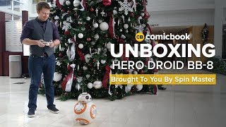 Star Wars Hero Droid BB-8: ComicBook UNBOXING