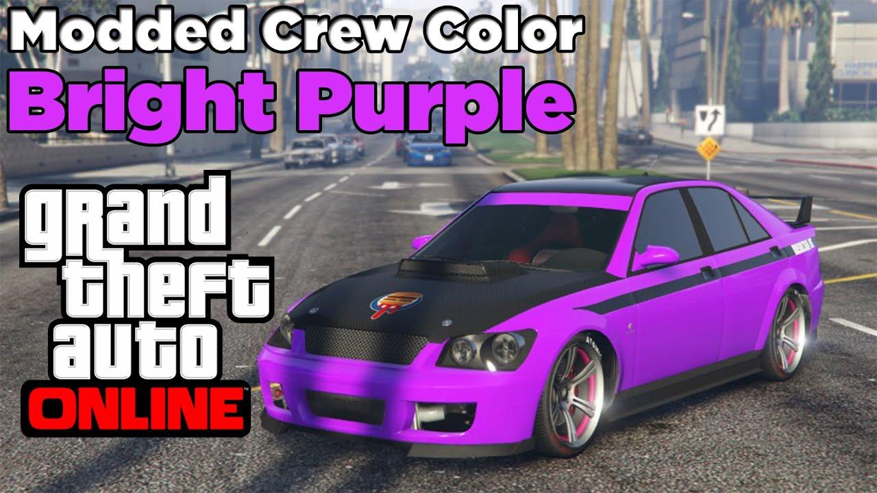 Gta Online Crew Colors Gta 5 Online New Modded Crew