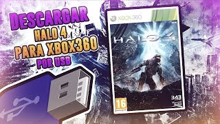 Como descargar HALO 4 Para XBOX 360 Sin chip Por USB