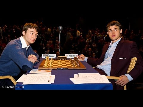 0 - Chess Video | Chess World.net: Luke McShane vs Magnus Carlsen - Berlin Defence - London Chess Classic 2012 - Chess & Mind Games