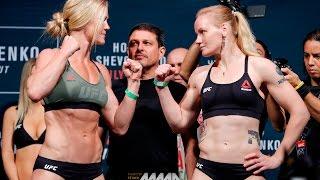 UFC on FOX 20 Weigh-Ins: Holly Holm vs. Valentina Shevchenko Staredown