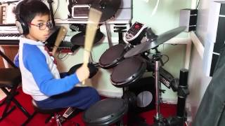 Nothing's Gonna Stop Us Now (Starship) : Drum Cover by Mark Justine Pacion