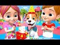 Bingo's Birthday   Dog Song | Nursery Rhymes For Children | Kindergarten Cartoon By Little Treehouse