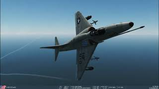DCS World Community A-4E Skyhawk shenanigans.