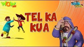 Download Tel Ka Kua - Chacha Bhatija - Wowkidz - 3D Animation Cartoon for Kids  As seen on Hungama TV 3Gp Mp4