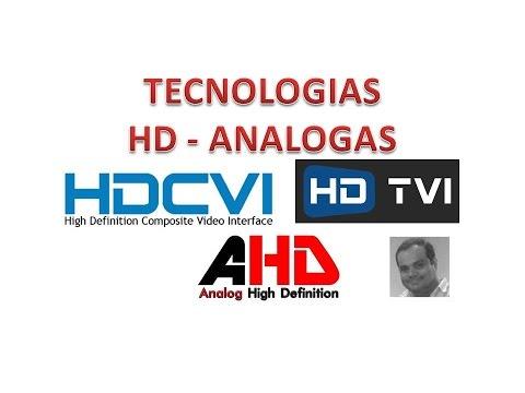 Tecnologías CVI, TVI, AHD - Grabadores HD