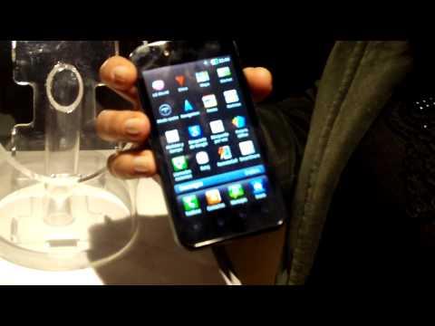 LG Optimus Black P970 en la Argentina