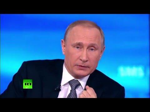 Владимир Путин: У власти на Украине как были олигархи, так и остались