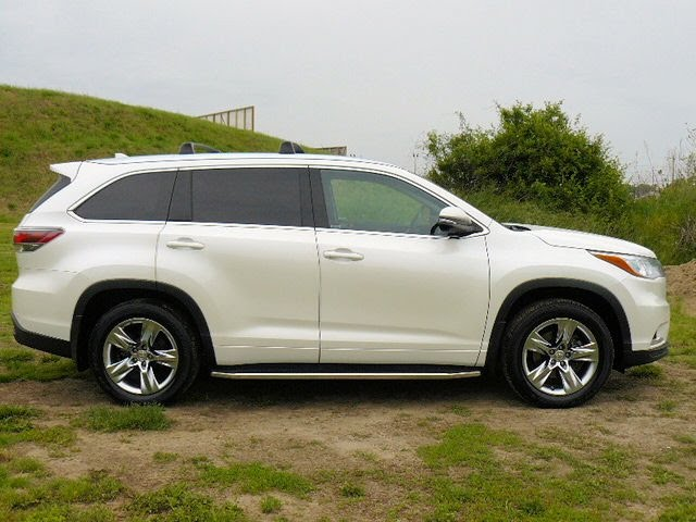 USED 2015 TOYOTA HIGHLANDER LIMITED AWD FOR SALE # F601404A