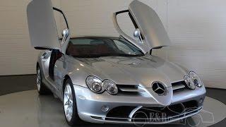 Mercedes Benz SLR McLaren 2005 3xx kms factory new never registered -VIDEO- www.ERclassics.com
