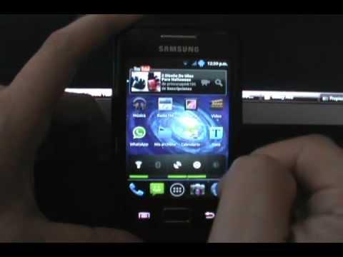 Review Rom PowerBlue v3 - Galaxy Ace S5830/B/L (EspañolMX)