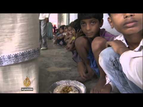 Indian Children Fear Contaminated School Meal video
