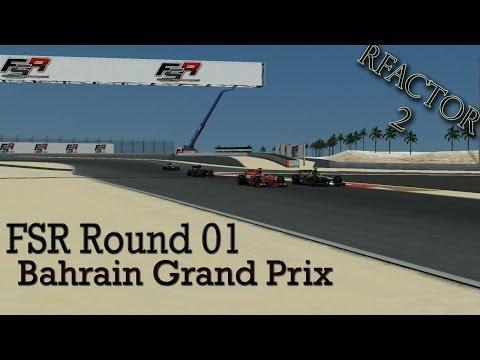 rFactor 2 - FSR 2014: PRO Round 1: Bahrain Grand Prix