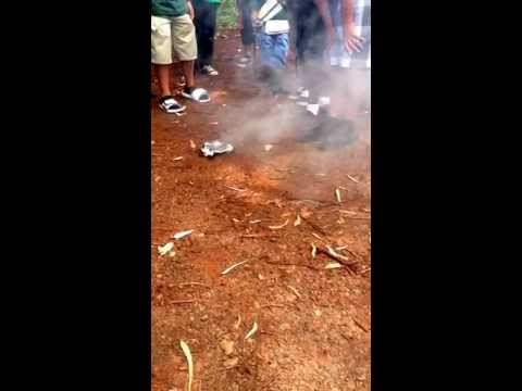 Wahiawa Middle School Smoke Bomb.