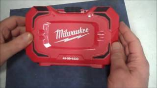 Milwaukee 4 pc Step Drill Set Review  -  48-89-9223 Step Bit Set