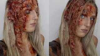 SFX Burn Halloween Makeup Tutorial THE HOUND Game Of Thrones Sandor Clegane