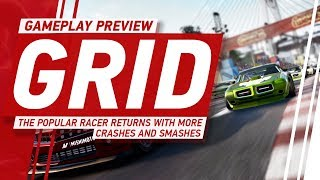 GRID Gameplay - Codemasters' Popular Racer Returns With More Crashes and Smashes