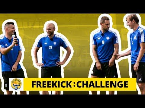 Freekick Challenge ve Zlíně: Když to nejde silou, jde to ještě větší