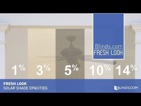 Fresh Look - Solar Shade Opacities