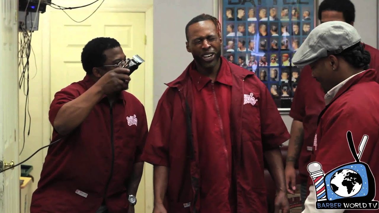 NYC BARBER BATTLE 4 Vlog 11. Training Day Part 3. - YouTube