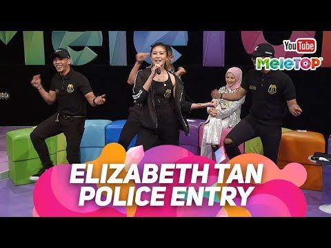 download lagu Police Entry oleh Elizabeth Tan | Persembahan Live MeleTOP | Nabil & Neelofa gratis