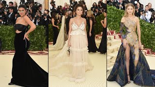 Download Lagu Selena Gomez Reunites With Gigi Hadid and Kylie Jenner at 2018 Met Gala Gratis STAFABAND