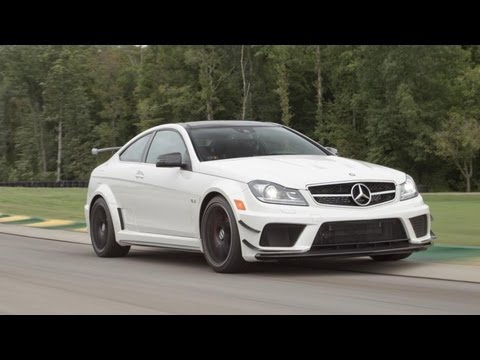 2013 Mercedes-Benz C63 AMG Coupe Black Series – 2013 Lightning Lap – LL3 Class – CAR and DRIVER