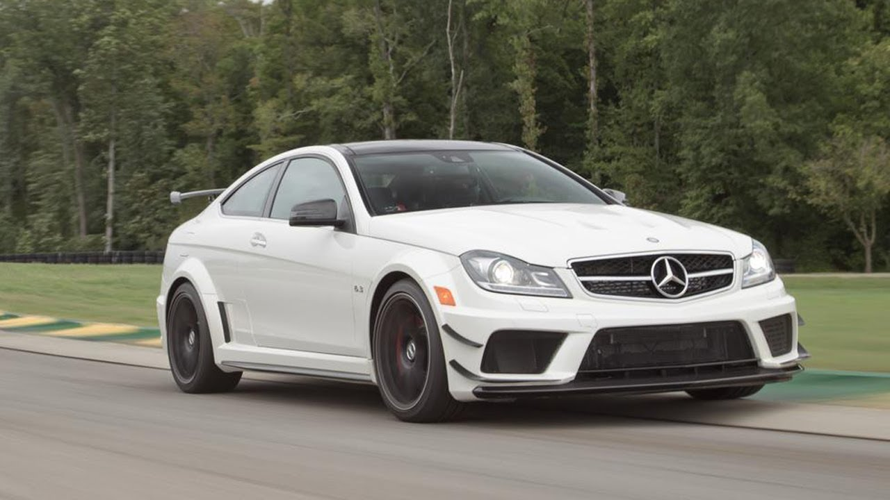 2013 Mercedes-Benz C63 AMG Coupe Black Series - 2013 Lightning Lap ...