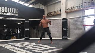 Robert Whittaker training ahead of UFC 234 (part 1)