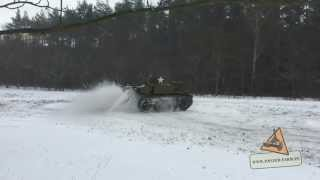 M3A1 Stuart TANK DRIFT ENGINE SOUND PANZER FARM