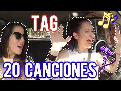 TAG 20 CANCIONES !!  :D    Daiana Hernández