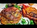 Рулька  свиная запечёная в духовке в рукаве, цыганка готовит. Gipsy cuisine.猪脚烤套