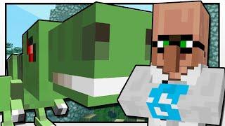 Minecraft   TRAYAURUS VISITS JURASSIC WORLD!!   Custom Mod Adventure