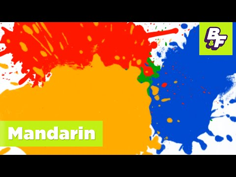 Colors In Mandarin. Learn Mandarin With Basho & Friends! video