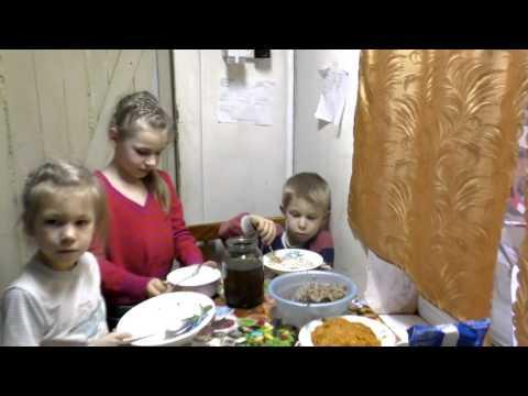 Ужин, выбираем подарок в Fix Price. Многодетная семья.