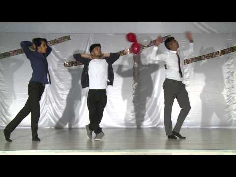 Tamil dance performance...