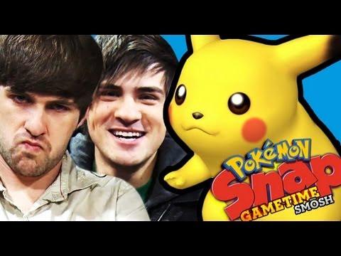 HOT PICS OF POKEMON (Gametime with Smosh)