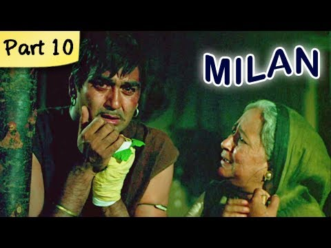 Milan (HD) - Part 10 of 12 - Classic Romantic Hindi Blockbuster...