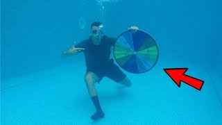1 SPIN = 1 CHALLENGE! DEEP UNDERWATER... Wheel Roulette Game!