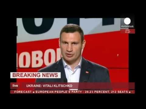 Ukraine President-elect Poroshenko, Kyiv mayor Klitschko speak (recorded LIVE feed)