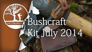Bushcraft & Hunting Kit (july 2014)