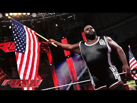 Mark Henry rallies America: Raw, Sept. 15, 2014