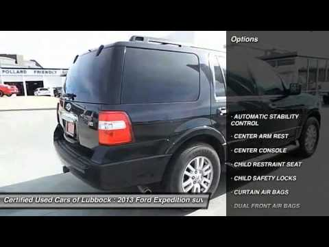 Ford Expedition Lubbock TX F43963