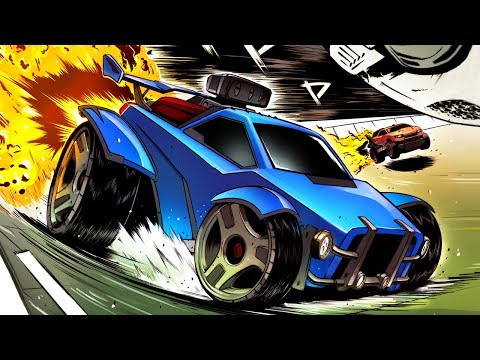 АВТО - ГООООООООЛ! ► Rocket League