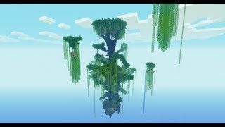 Minecraft. Ultimate Tree Survival. Часть 1.