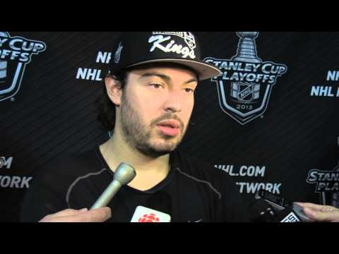 5/5/13 - Post Practice - Drew Doughty