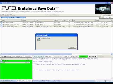 BruteForce Save Data Cheat Tutorial