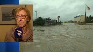 """Tempête Eleanor: la maire d'Étretat déplore des """"dégâts importants sur la plage"""""""