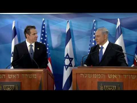 PM Netanyahu Meets with New York Governor Andrew Cuomo